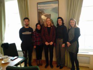 Migrasjon - siste PUSH-lab i Dublin 8