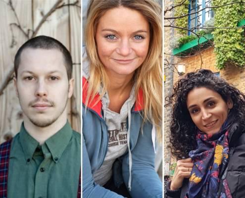 Tre norske scenekunstnere til PUSH+ Failure-lab i september 1