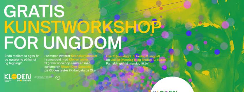 Unge stemmer: Kunstworkshop på Kloden i sommer 2